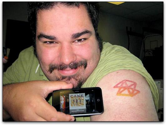 Steven Smith e seu novo iPod touch
