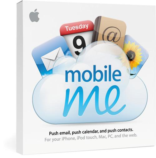 A própria marca do MobileMe é focada no conceito de cloud computing