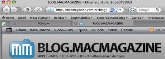 """Agora o Firefox está mais """"Mac-Like"""""""