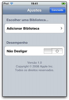 Aplicativo Remote 01