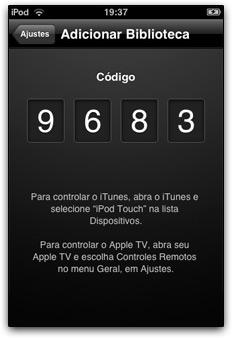 Aplicativo Remote 02
