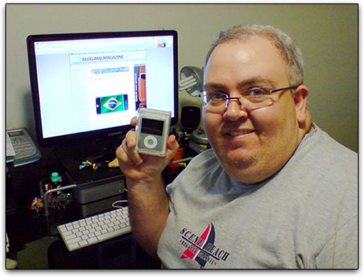 Marco Duarte e o seu iPod nano