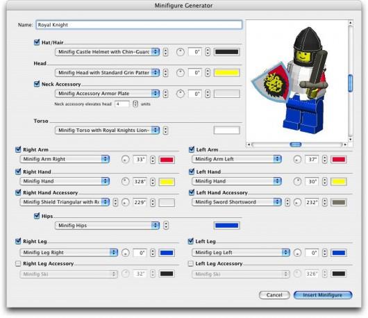 Bricksmith: Minifigure Generator