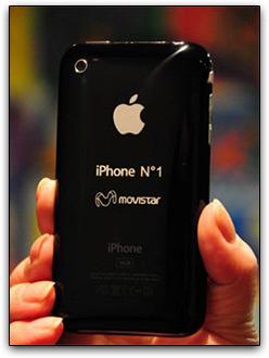Primeiro iPhone terá valor de US$1 e será vendido ao ganhador de um concurso realizado pela Movistar