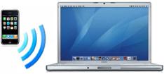 Tethering do iPhone com um MacBook Pro