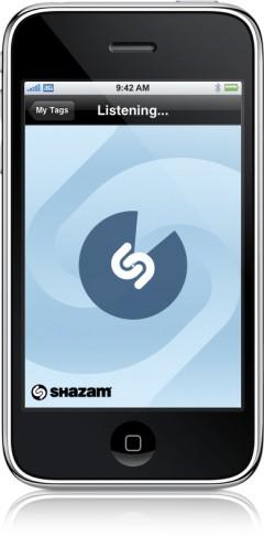 Shazam no iPhone
