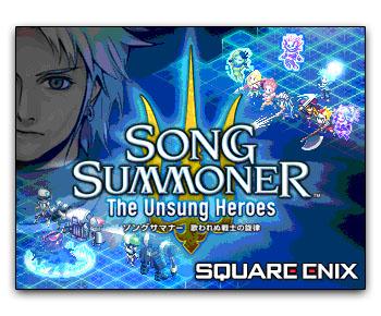 Tela título de Song Summoner: The Unsung Heroes