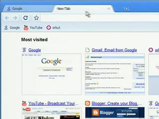 Reorganizando abas no Google Chrome