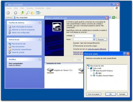 Mapeando unidade de rede no Windows XP
