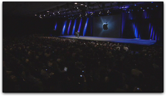 Abertura da keynote da Apple na Macworld 2008