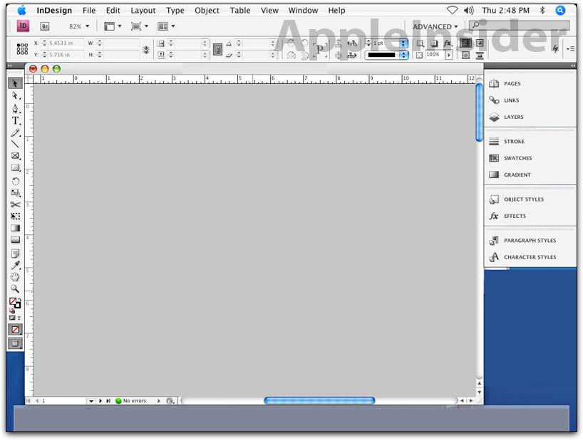 Adobe InDesign CS4: clique para ampliar