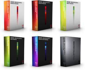 Caixas da Adobe CS4