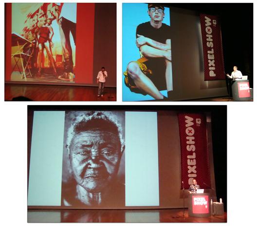 Algumas cenas da PS: Greg Tocchini, Ian Strawn e André Cypriano