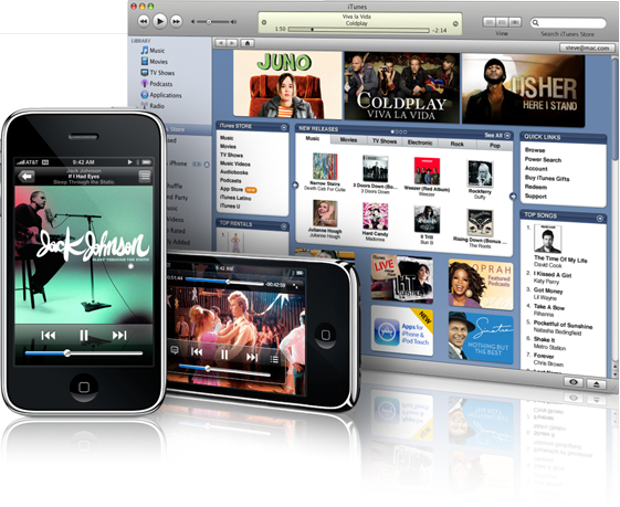 iTunes Store e iPhone 3G