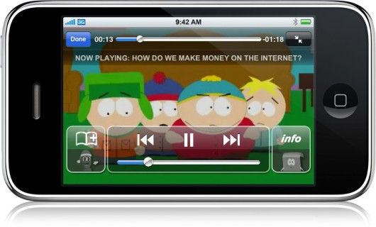 South Park no iPhone