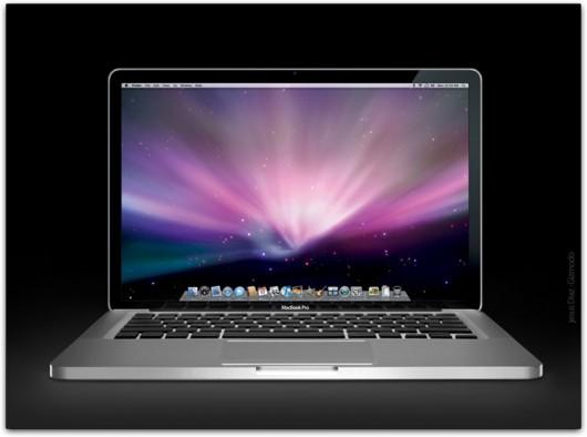 Possível reprodução fiel do novo MacBook Pro (via Gizmodo)