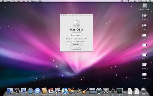 Janela de Sobre este Mac que mostra os 8GB