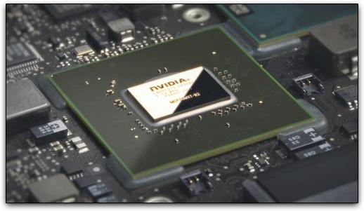NVIDIA GeForce 9-Series, em um MacBook