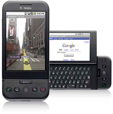 T-Mobile G1 com Google Android