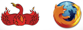 Logos do Firefox