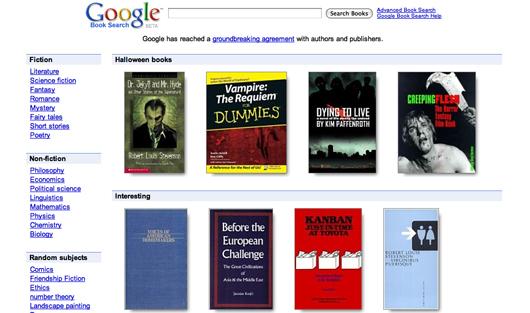 A loja de livros pode vir para ficar no lugar do Google Book Search, que oferece apenas uma previsão das publicações