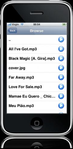 VLC Remote no iPhone