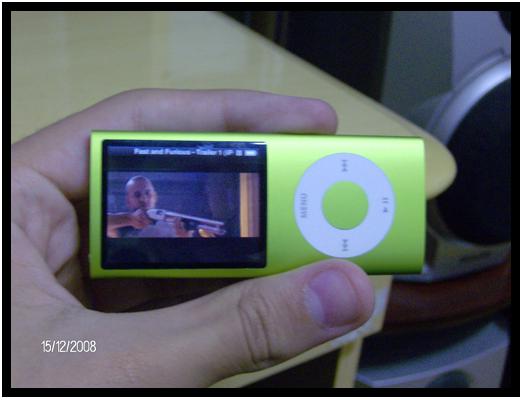 iPod nano 4G verde