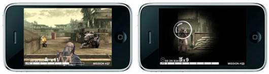 Metal Gear Solid Touch no iPhone