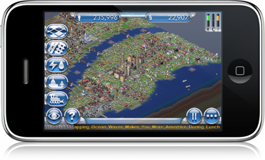 SimCity no iPhone