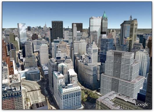 Nova York no Google Earth