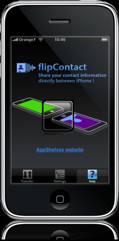 flipContact no iPhone