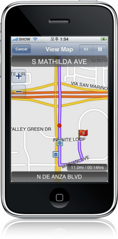 G-Map no iPhone