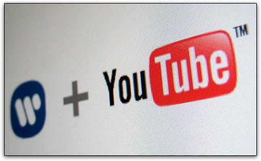 Warner Music e YouTube