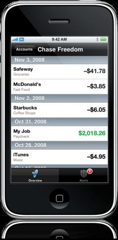 Mint no iPhone