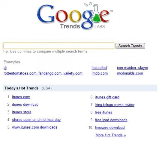 Palavras mais buscadas do Google - Natal 2008