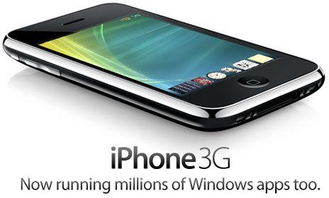Windows no iPhone 3G