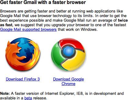 Gmail mais rápido