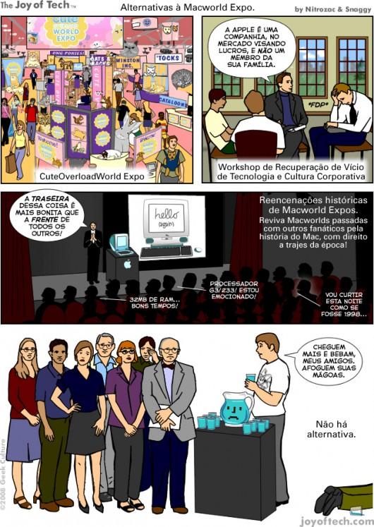 Joy of Tech: alternativas à Macworld Expo