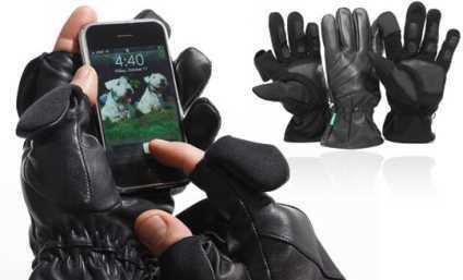 Luvas para iPhone