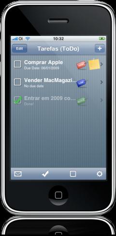 Tarefas no iPhone