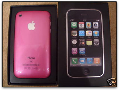 iPhone 3G Pink