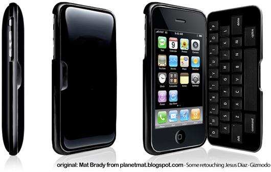 Proposta de iPhone 3G clamshell