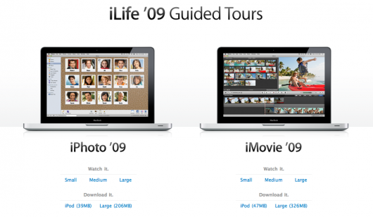 iLife '09 Guided Tours