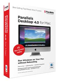Caixa do Parallels Desktop 4.0