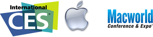 Apple CES e Macworld