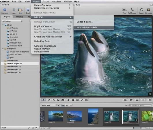 HSC Edit 1.6 para Aperture