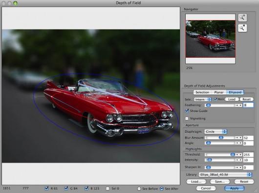 Plugin HSC Edit 1.6 para o Aperture