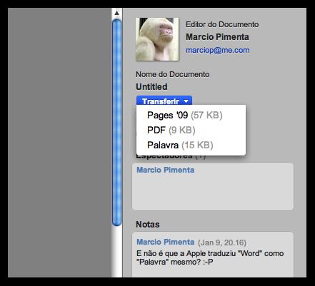 iWork.com e seus erros de tradução