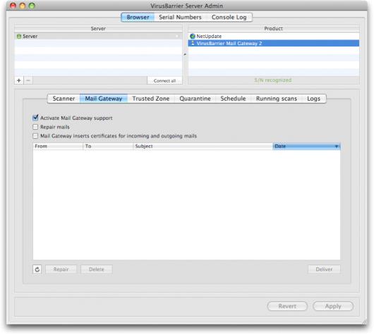 VirusBarrier Mail Gateway 2