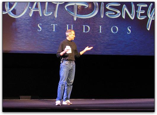 Steve Jobs e Walt Disney Company